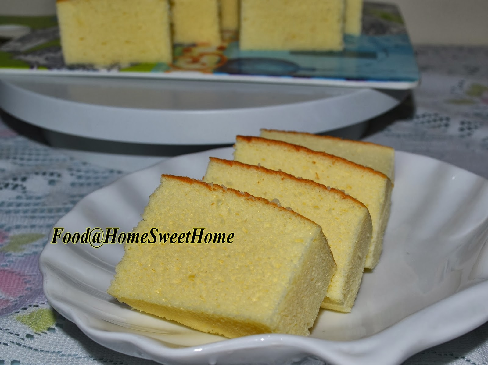 Mango Yogurt Ogura Cake Recipe