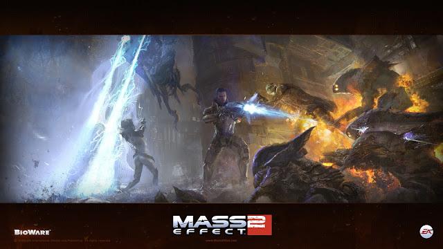 Mass Effect 2 Shootout Game Image