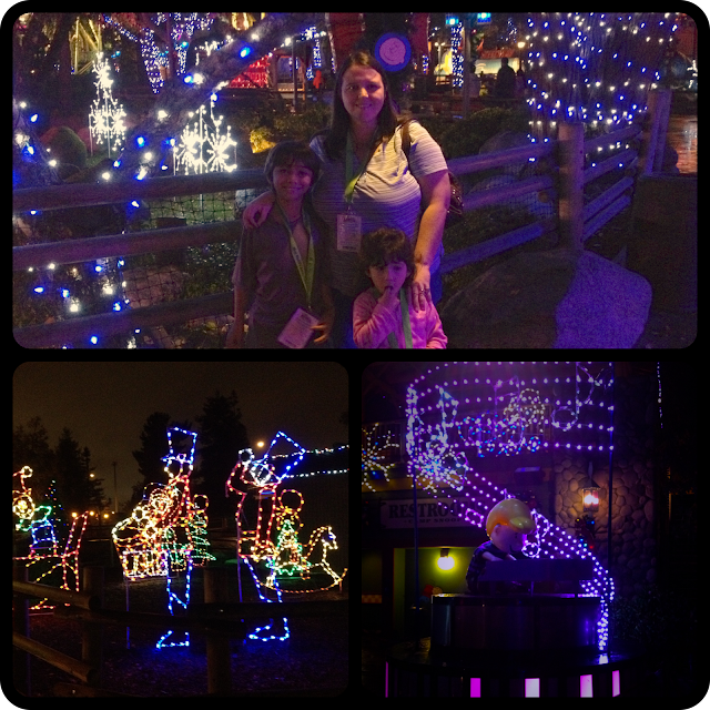 Snoopy's Magical Nights of Lights at Knotts Merry Farm!