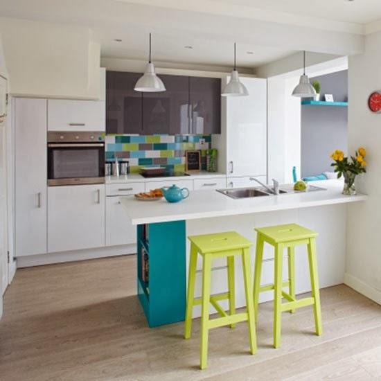 amenajari, interioare, decoratiuni, decor, design interior , bucatarie, culoare, bar