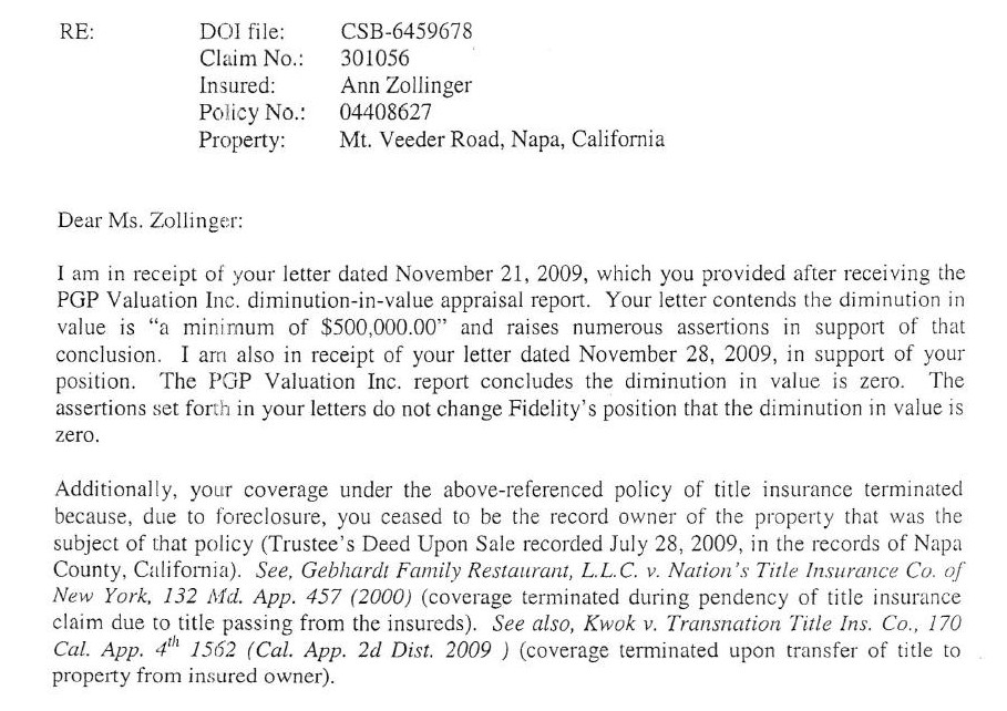 Car Insurance Claim Denial Letter Sample - 44Billionlater