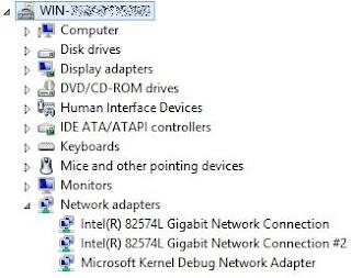 02 Saídas Gigabit Intel® 82574L
