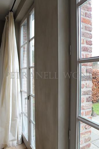 Petranell: Nieuwe kleur op muur...