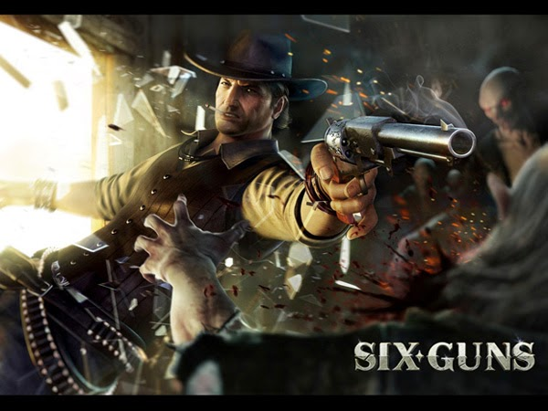الاندرويد   Six Guns