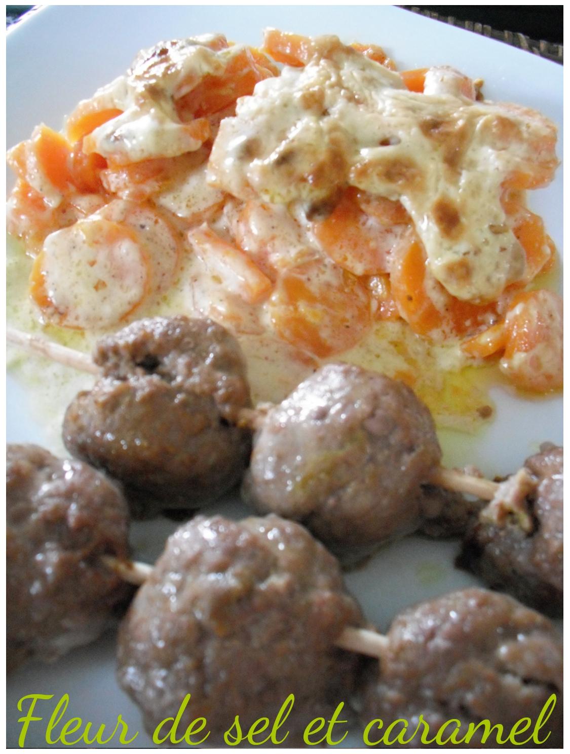 Fleur de sel et caramel boulettes de boeuf aux pices - Fleur de sel aux epices grillees ...