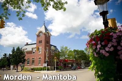 Morden no Manitoba - Canadá