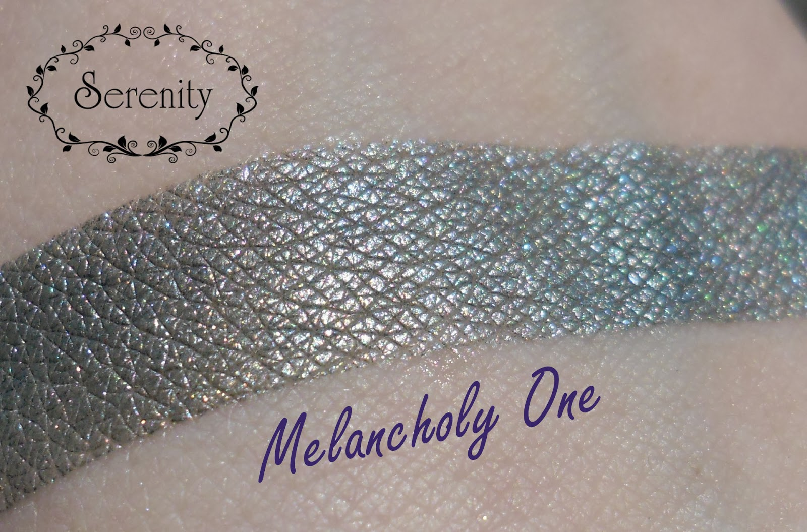 Notoriously Morbid Melancholy One Swatch