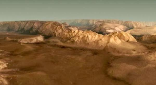 Mars Express Ungkap Keindahan di Tata Surya Planet Mars