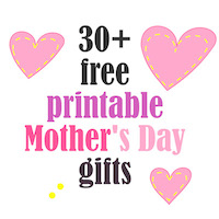 free mother's day gifts: