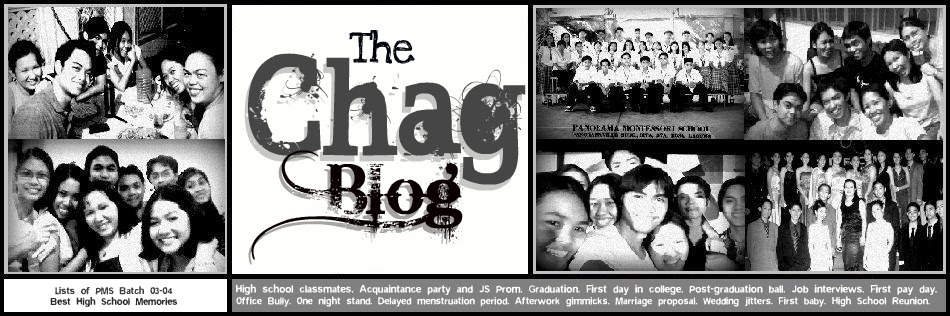 The Chag Blog