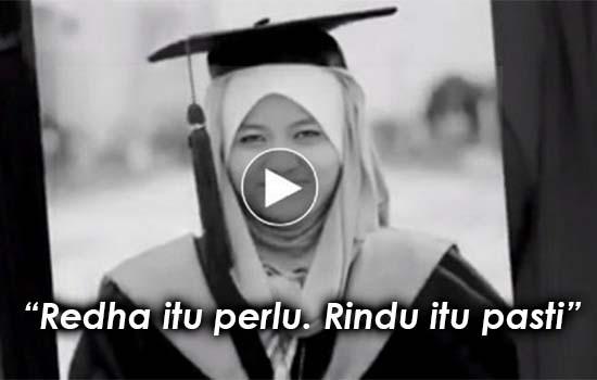 Video Tribute Khas Untuk Arwah Kekasih Oleh Lelaki Ini Buat Ramai Sebak