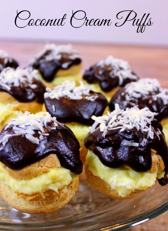 Coconut Cream Puff Recipe - Kudos Kitchen by Renee