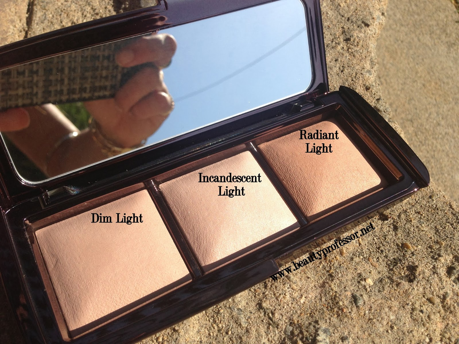 Above: All Three Shades In Direct Sunlight.