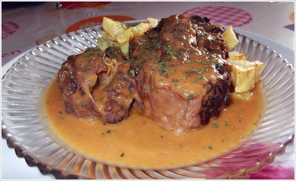 Rabo de ternera en salsa carne en tu casa share the - Cocinar rabo de ternera ...
