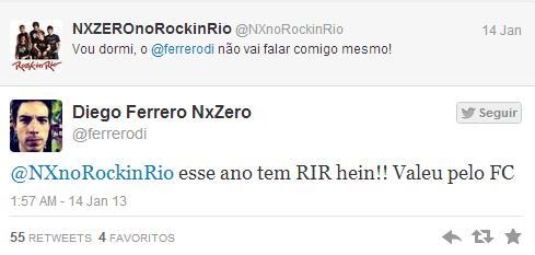Di Ferrero, NX Zero