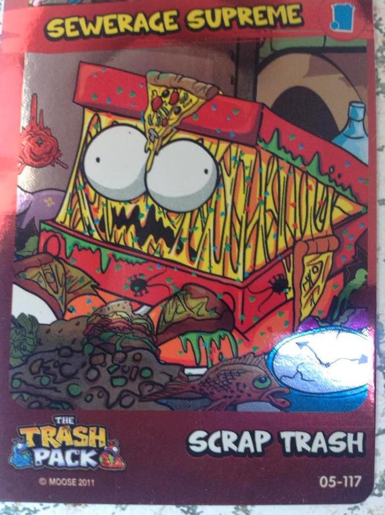 Trash Pack  2 Azul