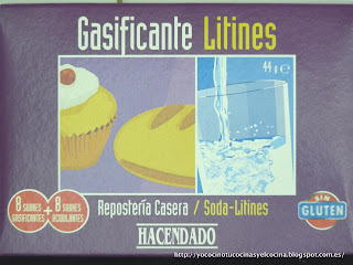 Gasificante para Repostería