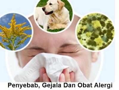 Penyebab, Gejala Dan Obat Untuk Reaksi Alergi