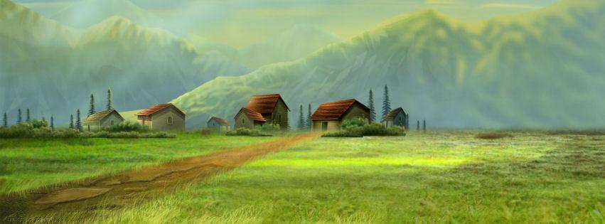 Dream village facebook cover