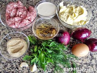 Salata de chiftele cu maioneza Ingredientele necesare retetei