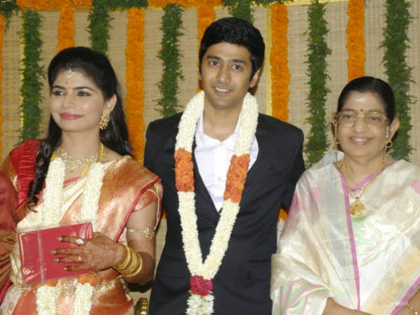 Singer Chinmayi Rahul Wedding Reception Photos