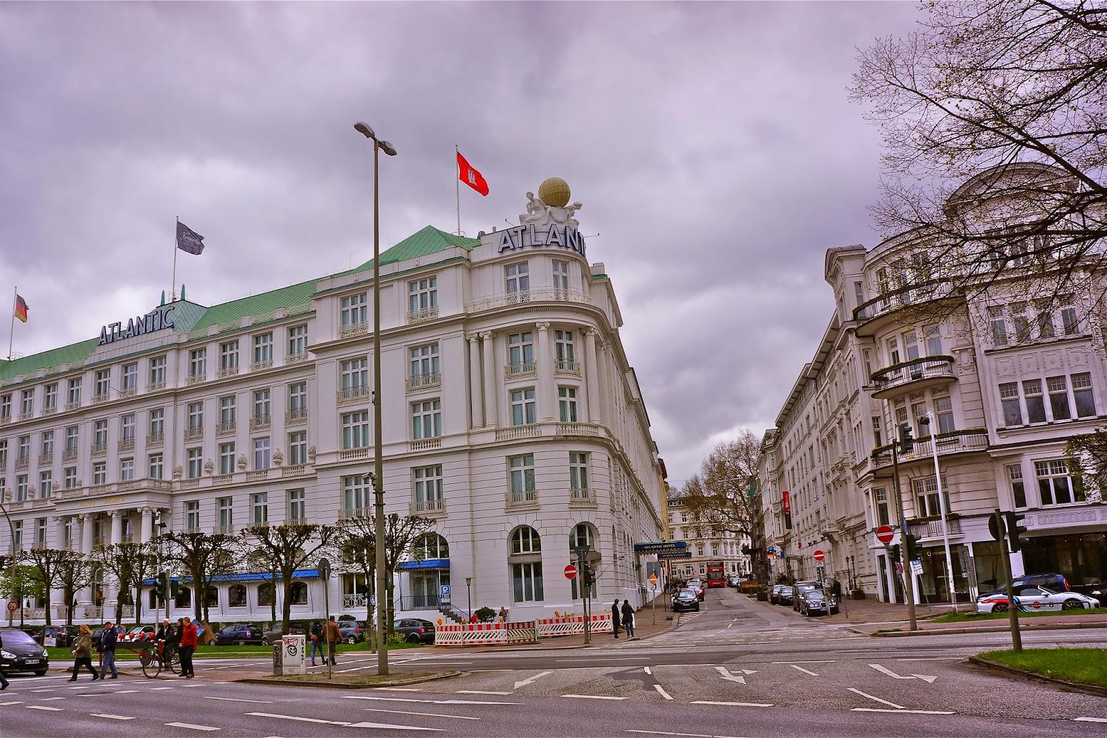 Picture of the Atlantic Kempinski Hotel in Hamburg, Germany.