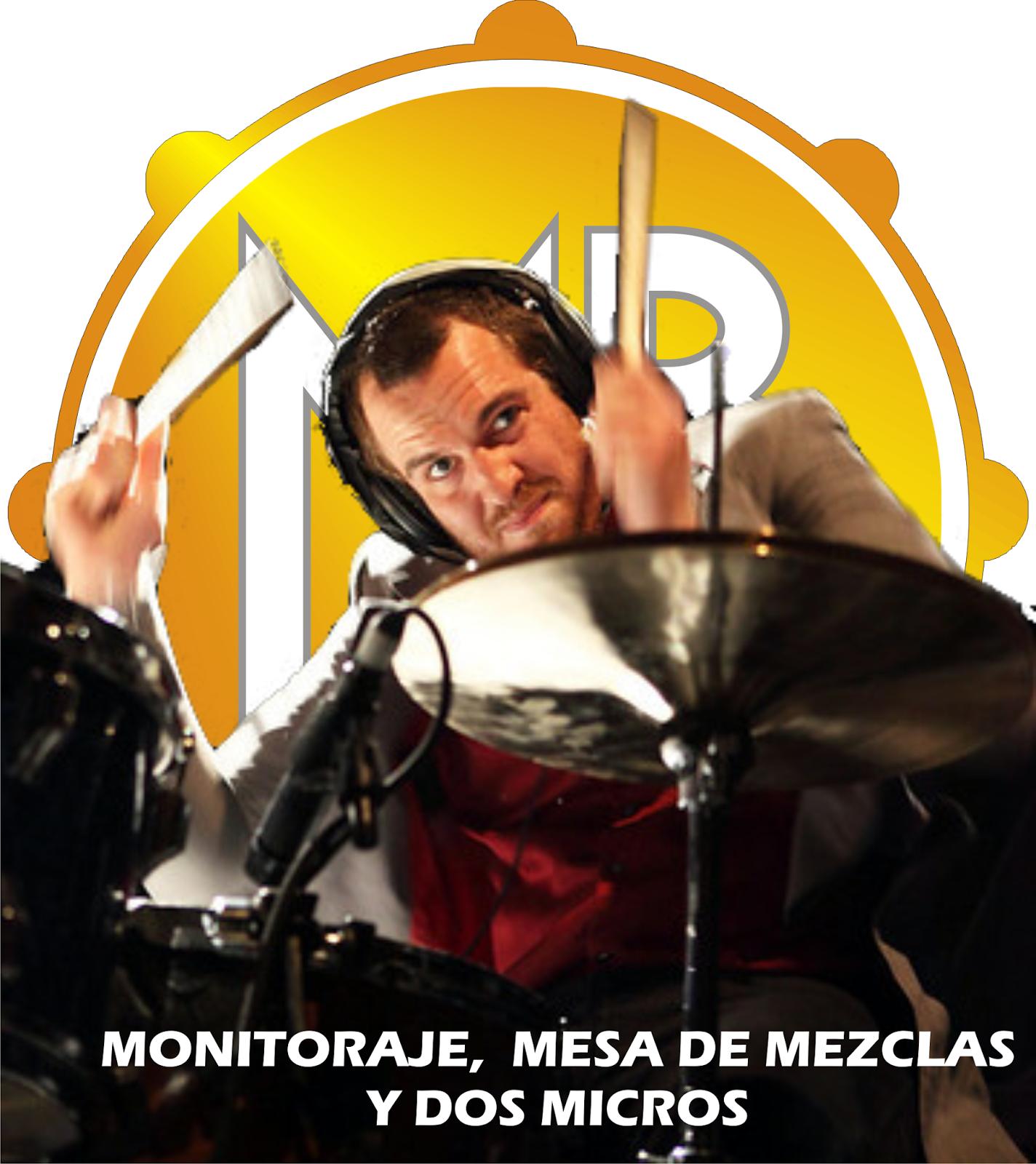 PORTADA MASSBATERIA MONITORAJE MESA DE MEZCLAS
