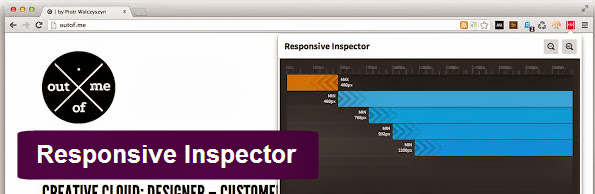Responsive Inspector Google Chrome extension