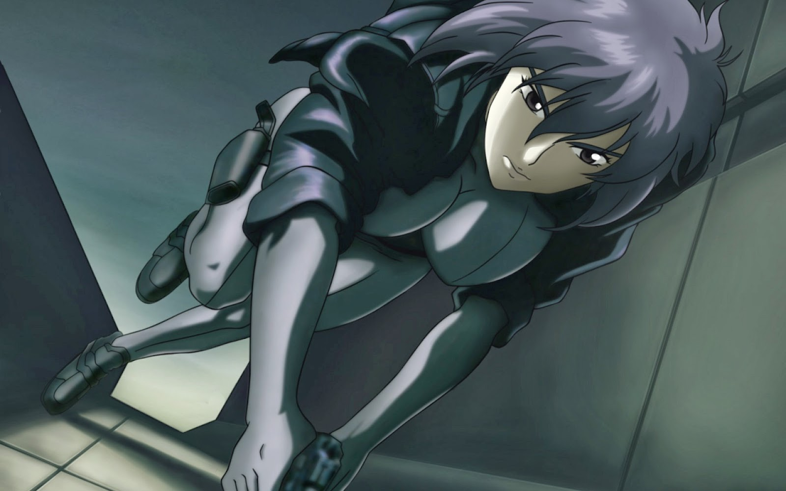 Motoko Kusanagi - Ghost In The Desktop Wallpaper
