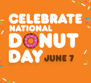 Celebrate National Donut Day June 7