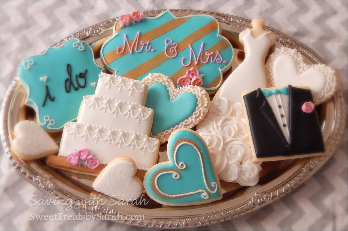 Sweet Treats by Sarah: Engagement Cookie Platter