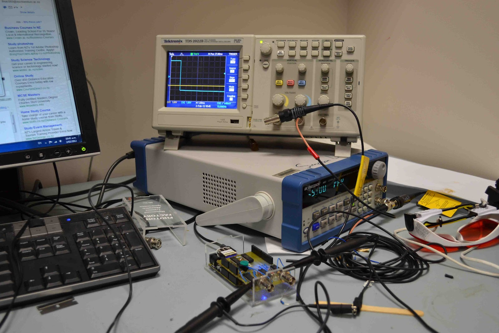 Nz nano arduino nanosecond signal delay