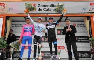 CICLISMO EN RUTA-La Volta Catalunya a las manos de Contador