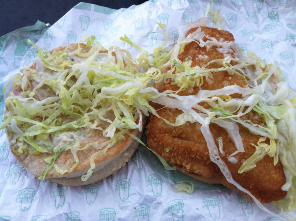 Fast food geek arby 39 s fish sandwich review for Arby s fish sandwich