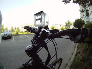 GoPro Handlebar Mount Improvisation