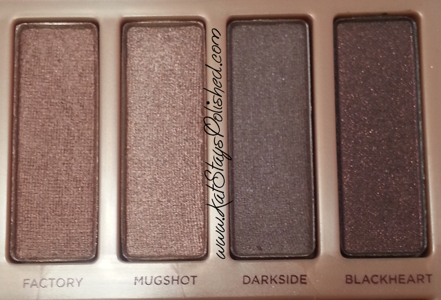 Urban Decay Naked 3 Palette - Factory | Mugshot | Darkside | Blackheart