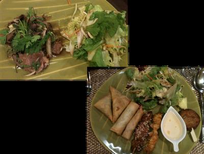 image entrées Restaurant Thailandais Narai Thai à Toulouse