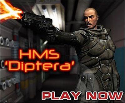 لعبة الاكشن واطلاق النار HMS Diptera