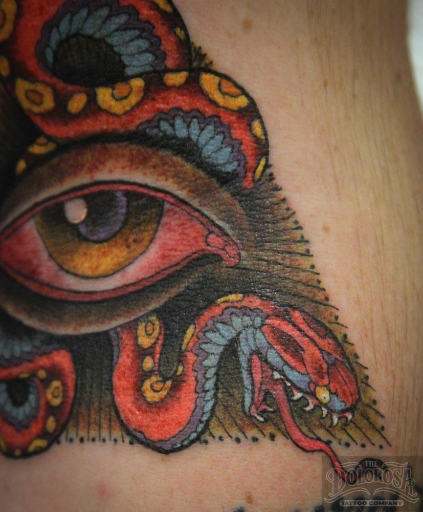 Illuminati Triangle Tattoo Ink