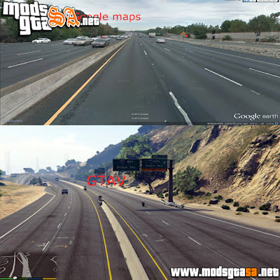 V - L.A. Ruas Realista para GTA V PC