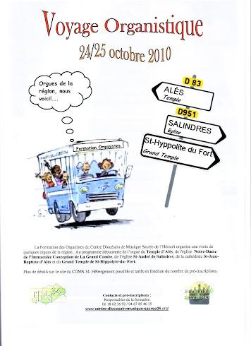 Voyage organistique en Cévennes