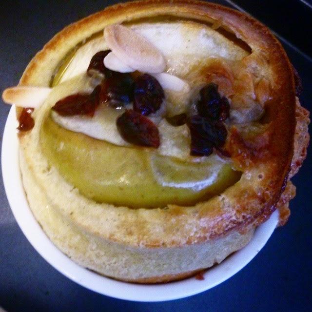 Crêpes cupcakes pommes et caramel (avec une recette de caramel fleur de sel en 5 minutes)