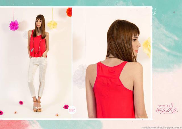 Moda primavera verano 2016. Blusas, faldas, pantalones, vestidos verano 2016 Santa Osadia ropa de mujer.