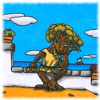 Hombre árbol.