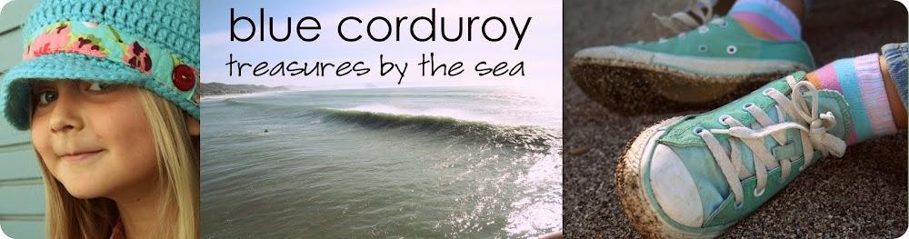 Blue Corduroy