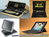 Evolusi Perkembangan Laptop
