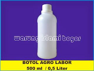Jual Botol HDPE 500ml Transparan