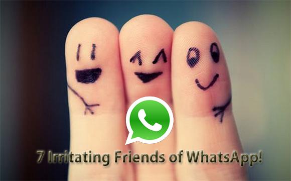 7 Irritating WhatsApp friends