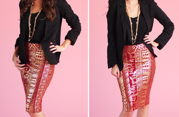 http://www.groopdealz.com/deal/aztec-gold-foil-pencil-skirt/38420/event