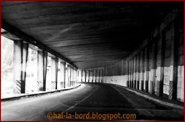 in tunel transfagarasan 2008